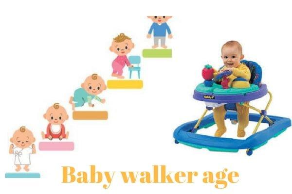baby walker age