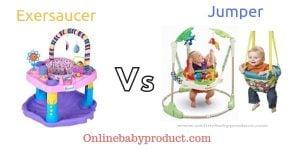 Exersaucer vs jumper