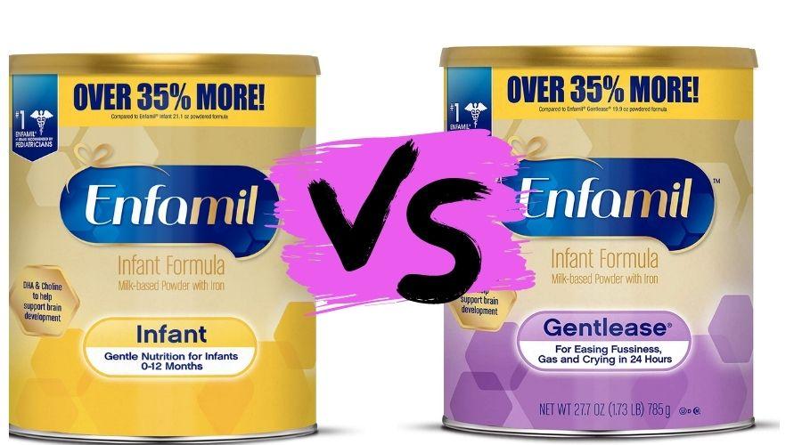 Enfamil Infant vs Enfamil Gentlease